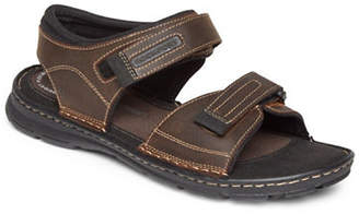 Rockport Darwyn Leather Quarter Strap Sandals