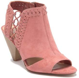 Vince Camuto Emmia Woven Leather Block Heel Sandal