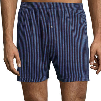 STAFFORD Stafford Print Knit Cotton Boxers $14 thestylecure.com