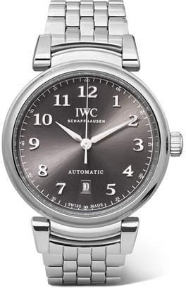IWC SCHAFFHAUSEN Da Vinci Automatic 40mm Stainless Steel Watch - Silver