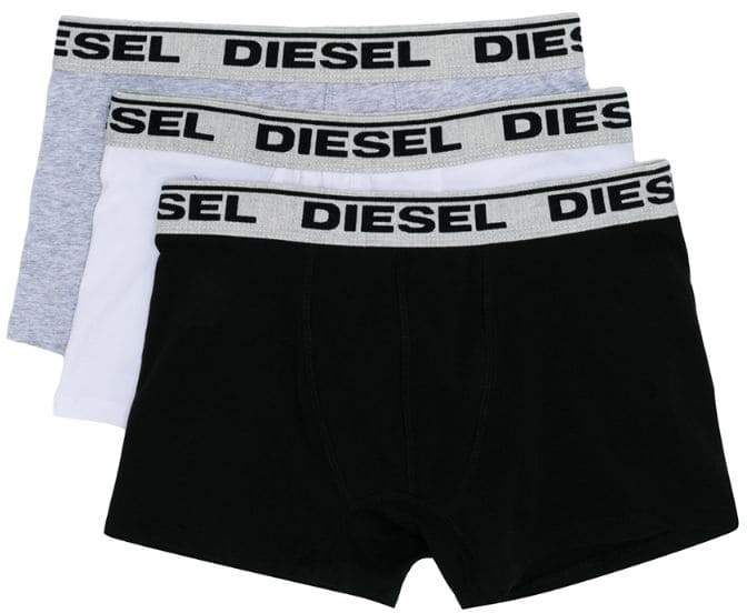 three-pack logo underwear
