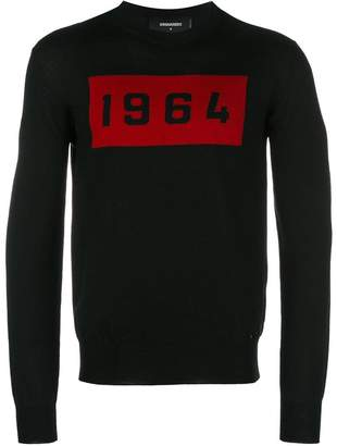 DSQUARED2 1964 knitted sweater