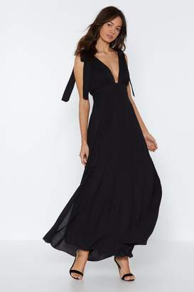 Nasty Gal Truly Madly Deeply Plunging Dress