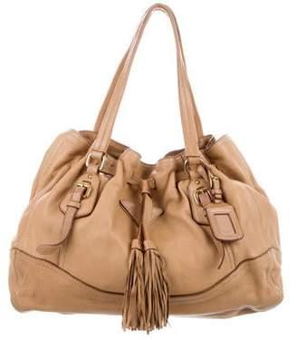 9d68e9192c8a Prada Drawstring Bag - ShopStyle