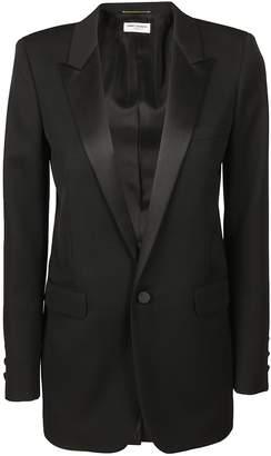 Saint Laurent Iconic Le Smoking Single-breasted Tube Jacket