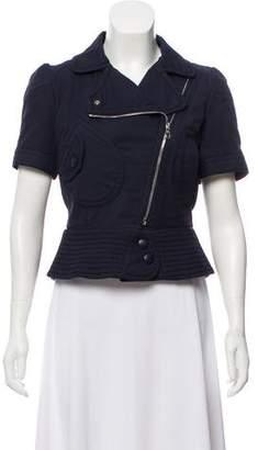 Louis Vuitton Short Sleeve Zip-Up Jacket