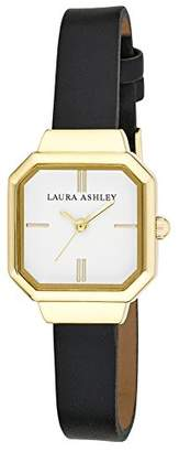 Laura Ashley Women's LA31004BK Analog Display Japanese Quartz Watch