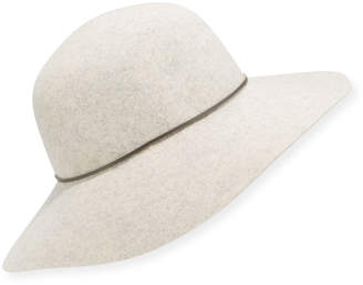 ... Neiman Marcus Large Brim Rounded Floppy Hat d79cf1266a65