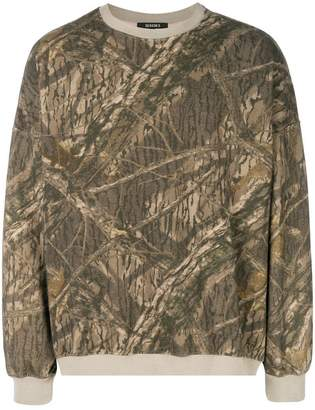 Yeezy camouflage sweater