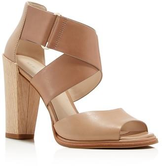 Kenneth Cole Sora Criss Cross Ankle Strap Sandals $140 thestylecure.com