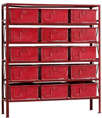Pottery Barn Teen Rockwell 15-Drawer Bookcase