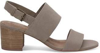 Desert Taupe Suede Oxford Women's Poppy Sandals