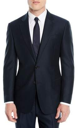 Emporio Armani Men's Solid Wool Two-Piece Suit