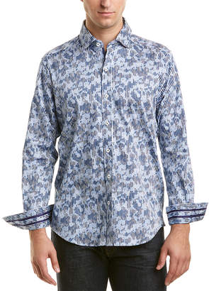 Robert Graham Jennings Tailored Fit Woven Shirt