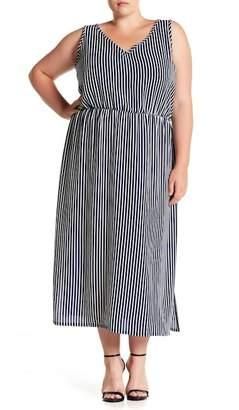 Como Vintage Crepe Maxi Dress (Plus Size)
