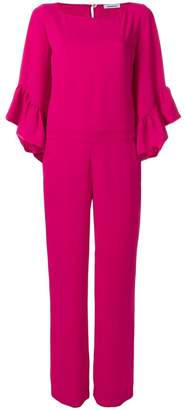 P.A.R.O.S.H. ruffle-sleeve jumpsuit