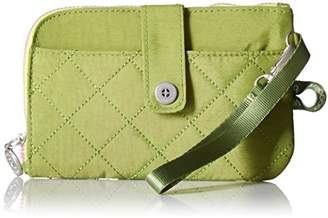 Baggallini Women's Rfid Passport and Phone Wristlet