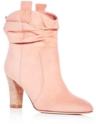 Sarah Jessica Parker Women's Sloan Suede High-Heel Booties - 100% Exclusive