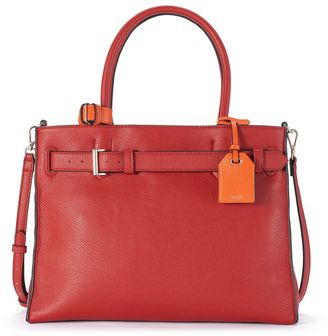REED RK40 Large Belted Convertible Satchel $129 thestylecure.com
