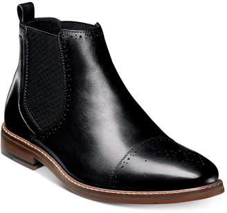 Stacy Adams Men's Alomar Cap-Toe Chelsea Boots Men's Shoes