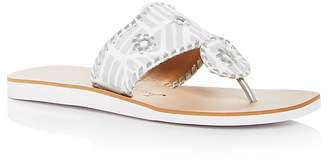 Jack Rogers Women's Captiva Demi Wedge Thong Sandals