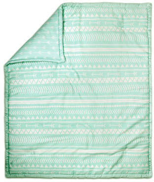 The Peanut Shell Tribal Print Cotton Quilt