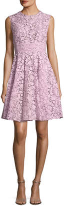 Giambattista Valli Sleeveless A-Line Lace Dress