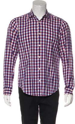 Vince Patterned Casual Shirt