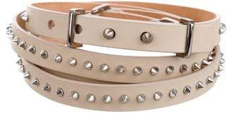 Barbara Bui Studded Wrap-Around Belt