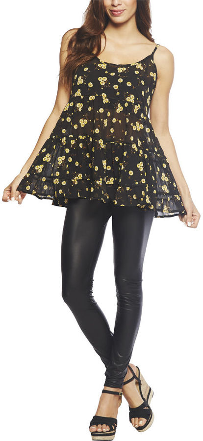 Babydoll Sunflower Top