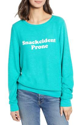 Wildfox Couture Baggy Beach Jumper - Snackcident Prone Pullover
