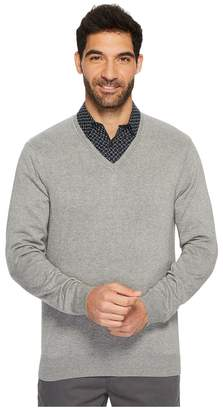 Perry Ellis Classic Solid V-Neck Sweater Men's Sweater