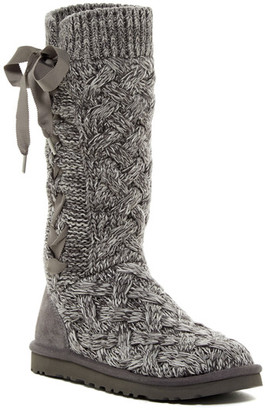 UGG Australia Mahalya Knit Ribbon UGGpure(TM) Lined Boot $174.95 thestylecure.com