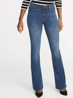 Old Navy Mid-Rise Built-In Sculpt Flare Jeans for Women