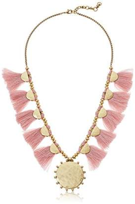 Lucky Brand Women's Fringe Statement Necklace