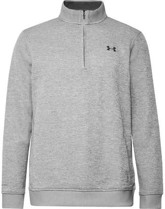 Under Armour Storm Fleece-Back Jersey Half-Zip Golf Sweatshirt