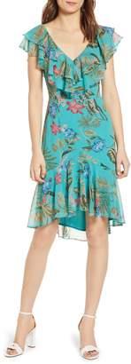 WAYF Chelsea Ruffle High/Low Dress