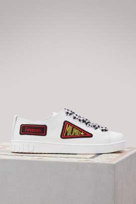 Miu Miu Vichy ribbon sneakers