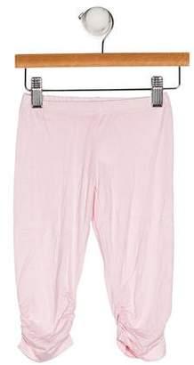 Blumarine Girls' Ruched Skinny Pants