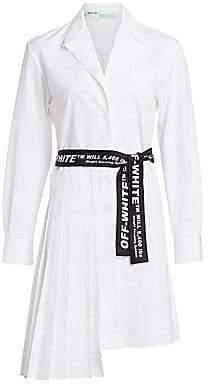 Off-White Women's Panel Cotton Shirtdress