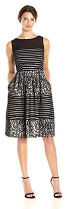 Sangria Women's Lace a Line Dress
