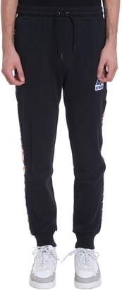 K-Way K Way Kappa X Collaboration Pants In Black Cotton