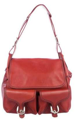 Gryson Leather Flap Hobo