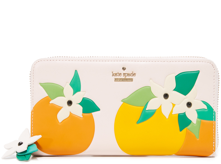 Kate Spade Kate Spade New York Orange Blossom Lacey Wallet