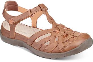 Bare Traps Baretraps Florrie Rebound Technology Flat Sandals, Created for Macy's Women's Shoes