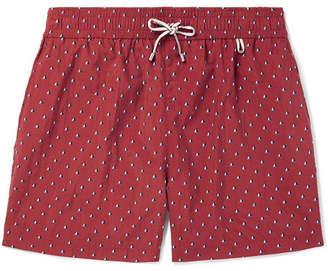 Loro Piana Key West Mid-Length Printed Swim Shorts