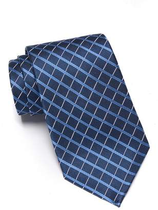 Nordstrom Rack Silk Danillson Grid Tie - XL Length