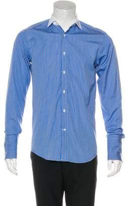 Ralph Lauren Black Label Striped French Cuff Shirt