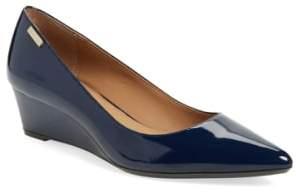 Calvin Klein 'Germina' Pointy Toe Wedge