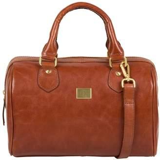 At Debenhams Pure Luxuries London Chestnut Arona Italian Inspired Eather Handbag